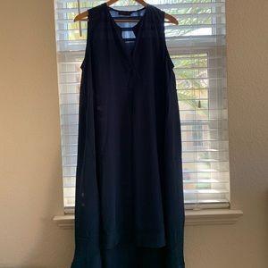 Hatch silk maternity dress